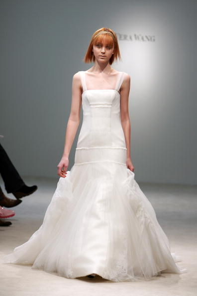 Vera Wang wedding dresses usually mean high taste