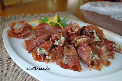 Stuzzichini di bresaola ricetta per un antipasto sano e leggero