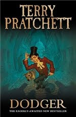 Dodger by Terry Pratchett UK cover