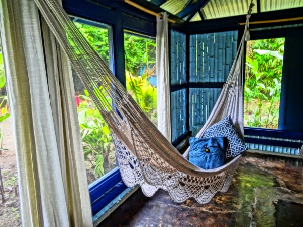I spent many hours relaxing in my hammock at Blue Osa