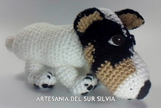 amigurumi de perro 