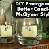 DIY How to Make an Emergency Butter Candle