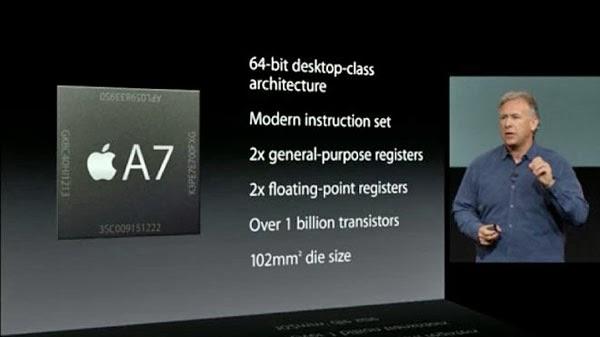 a7 processor iphone 5s