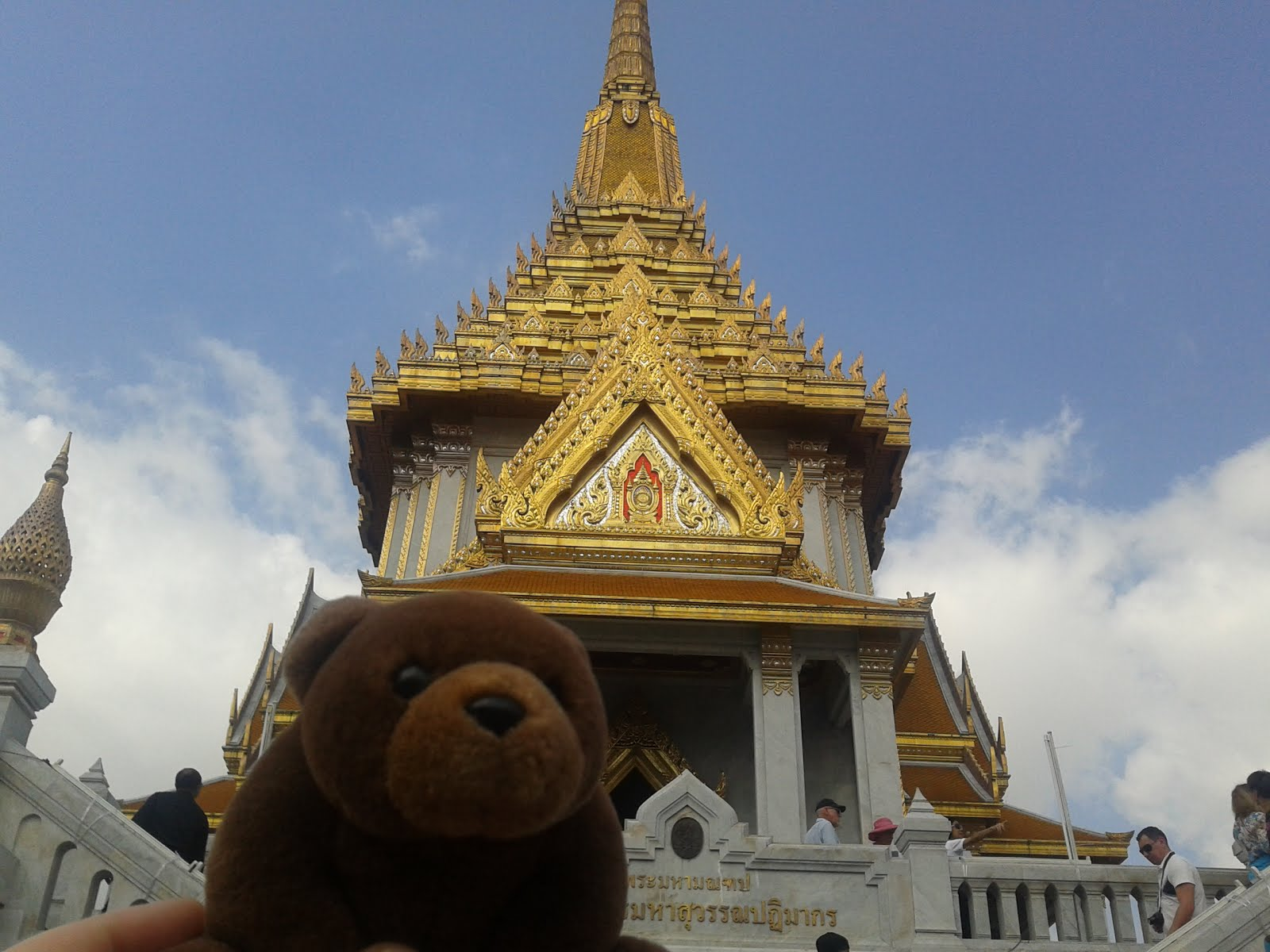 Teddy in Bangkok