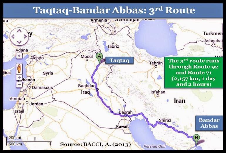 BACCI-Taqtaq-BandarAbbas-3rd-Route-Aug-2013