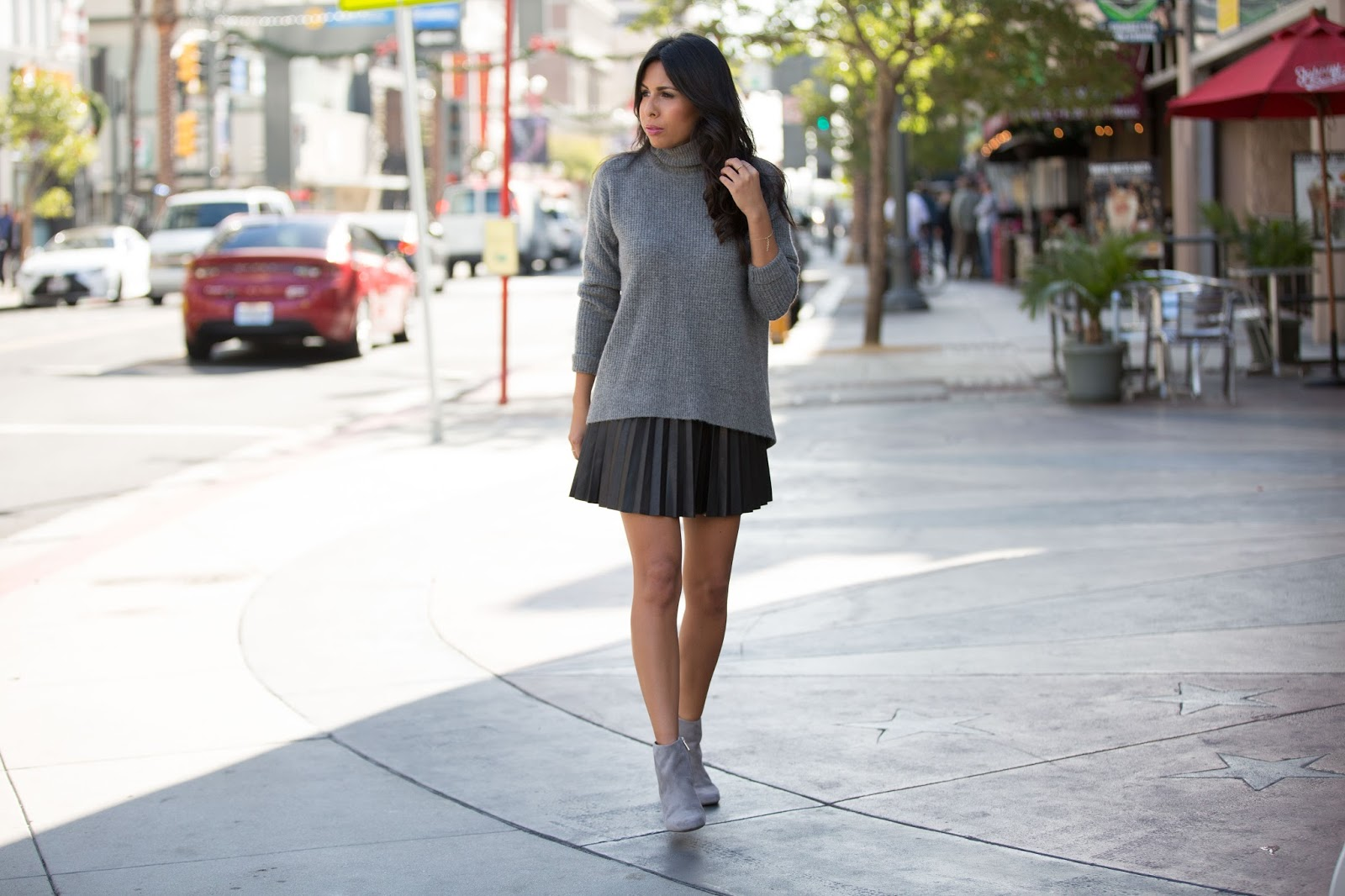 Life, Love and the Pursuit of Shoes: Grey Booties FTW