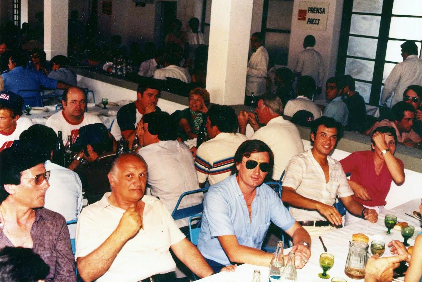 1984 - Los Angeles - Pausa Pranzo