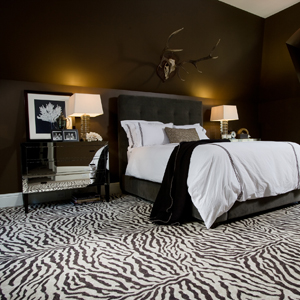 DECORACION CON CEBRA DORMITORIOS CEBRA ZEBRA BEDROOM DECORATING via www.dormitorios.blogspot.com