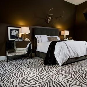 Dormitorio decoracion cebra zebra - Decoracion en cebra ...