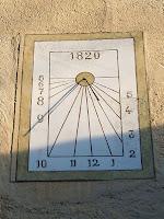 Rellotge de sol de Can Balasch de Baix