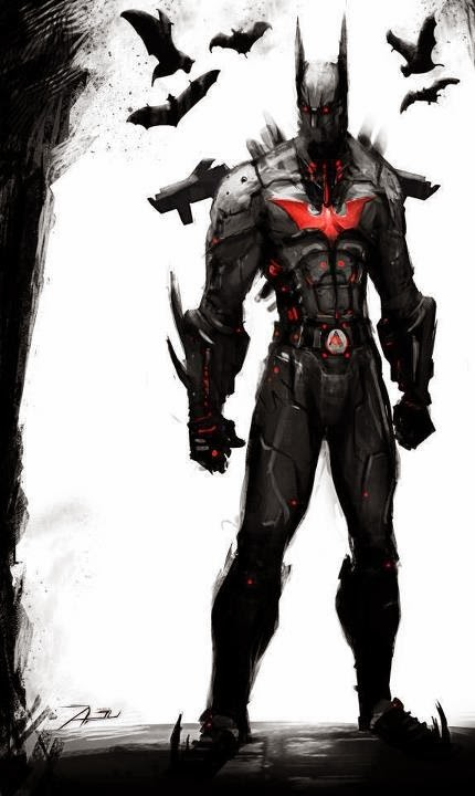 batman beyond concept
