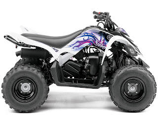 Yamaha pictures 2013 Raptor 90 ATV 5