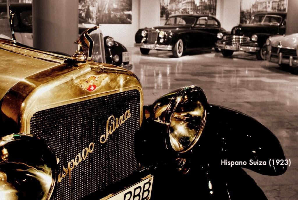 Museo de coches clásicos. Un ´viaje en el tiempo´