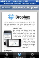Benvenuto in Dropbox