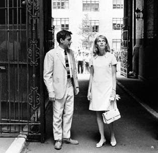John Cassavetes & Mia Farrow at the Dakotoa