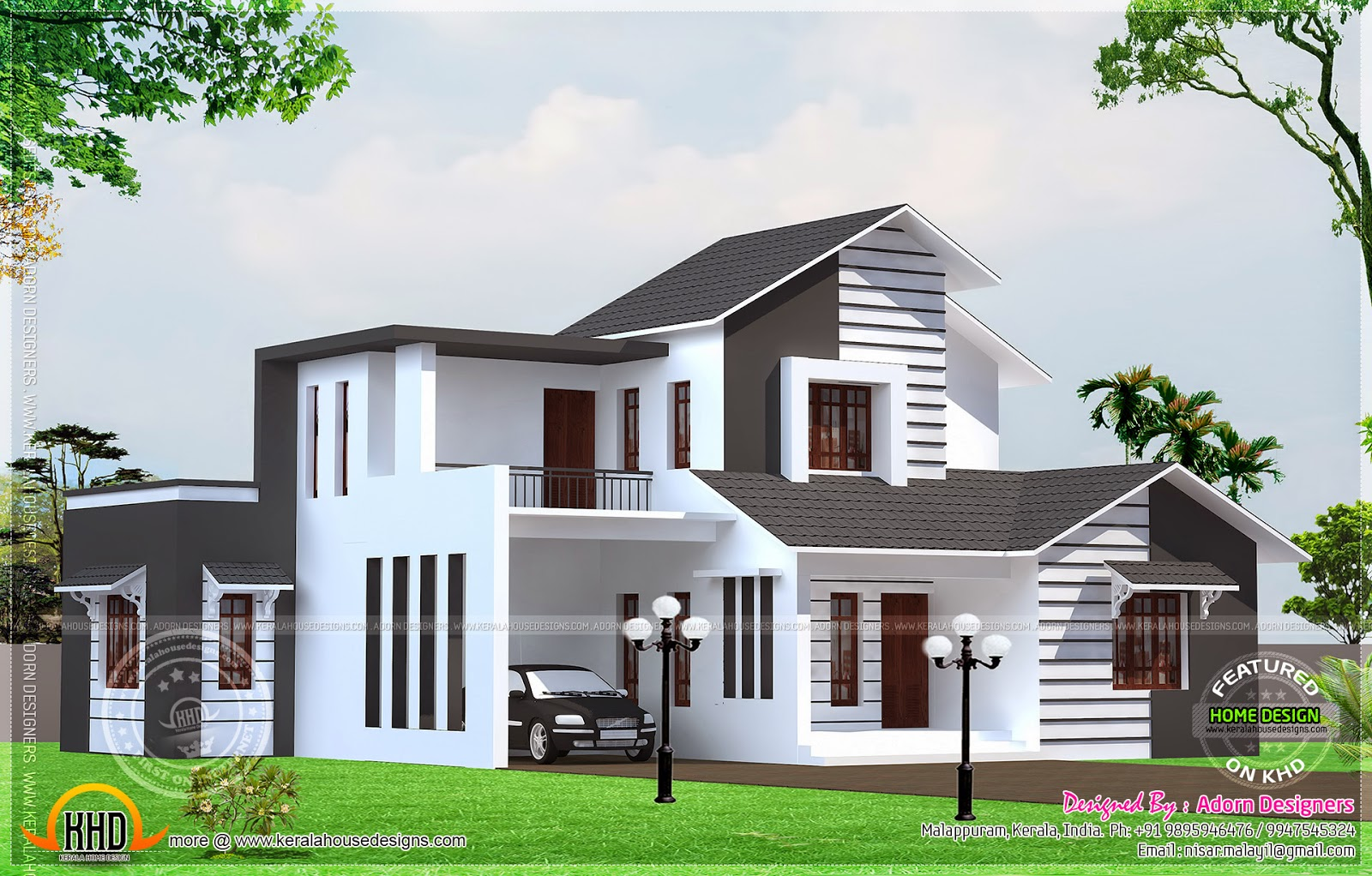 August 2014 home kerala plans for Home designs in tamilnadu