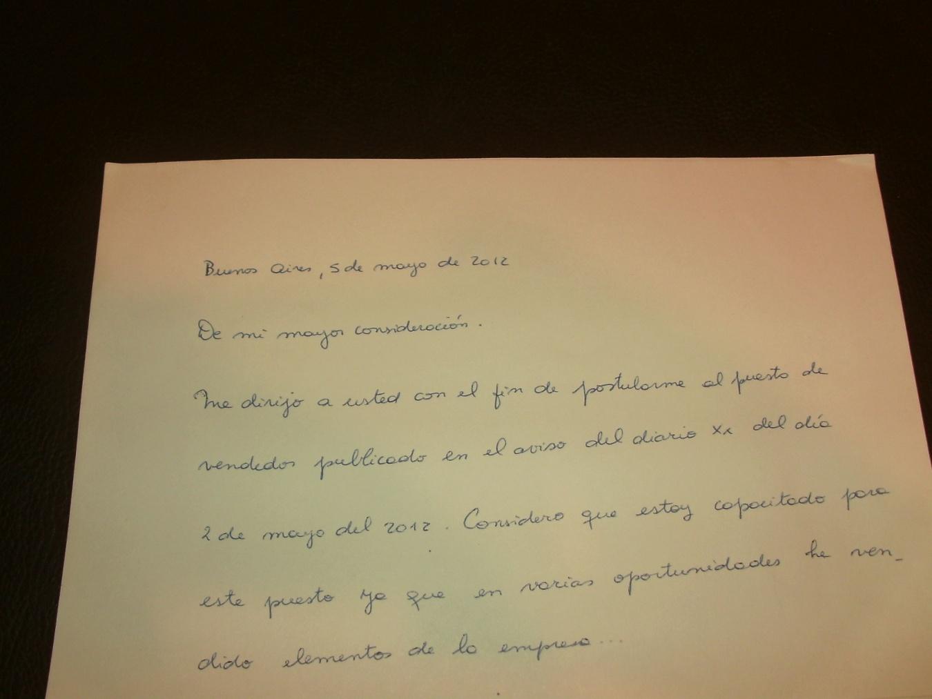 Encontrar empleo YA!!: Un CV manuscrito... ¿llama la atención?