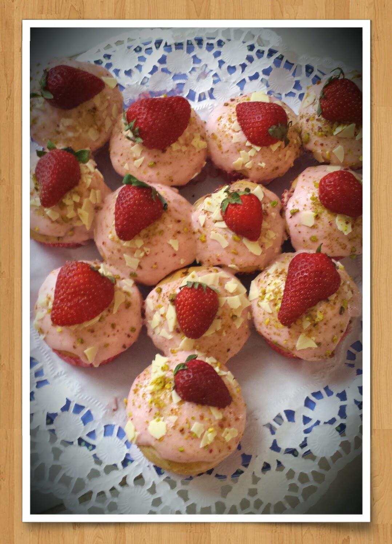 Erdbeer Cupcakes
