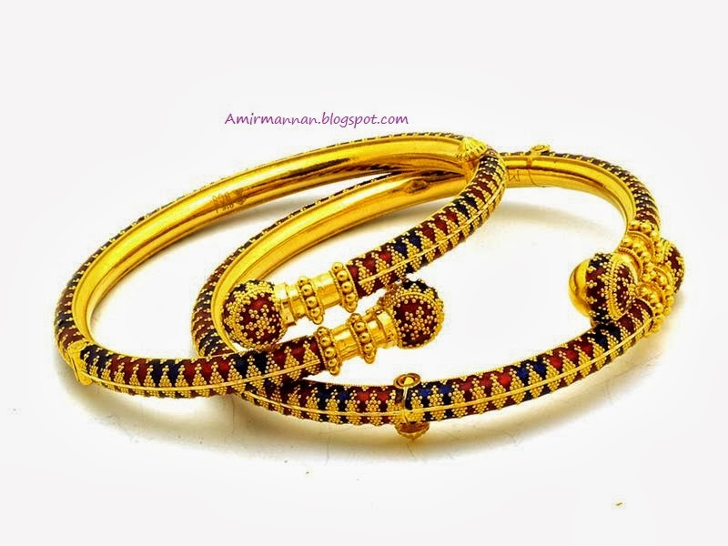Bangles Jewellers Pakistani Bengals 21k Gold