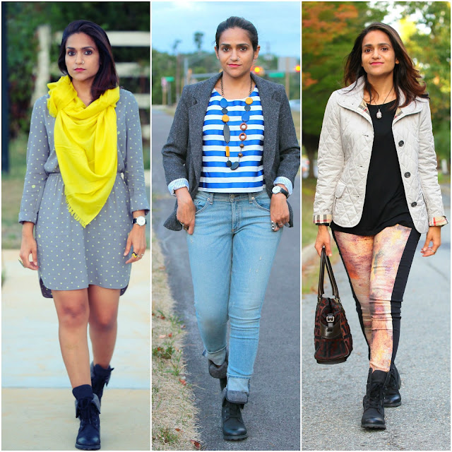 Three Ways To Style Black Ankle Boots Tanvii.com