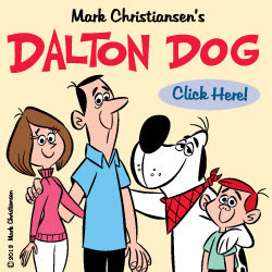 DALTON DOG COMIC STRIP!