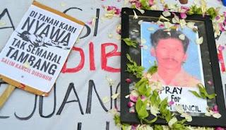 Aktivis yang Hidupnya Berakhir Tragis