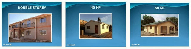 Low cost housing in Namibia