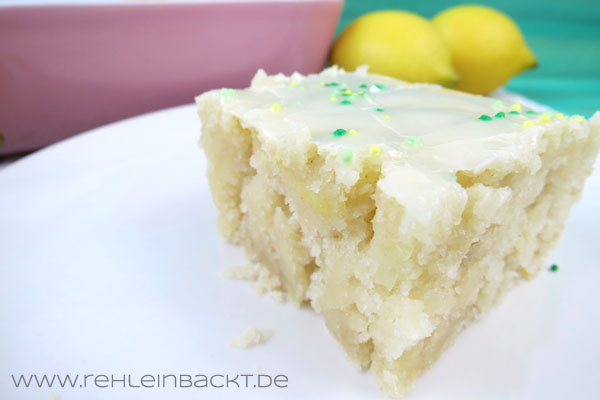 Zitronen Wacky Cake | Foodblog rehlein backt
