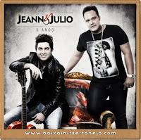 Nome do CD: 5 anos Artista: Jeann e Julio Tamanho: 82 MB Lançamento: 2013