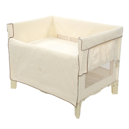 Bassinet Attached To Bed5