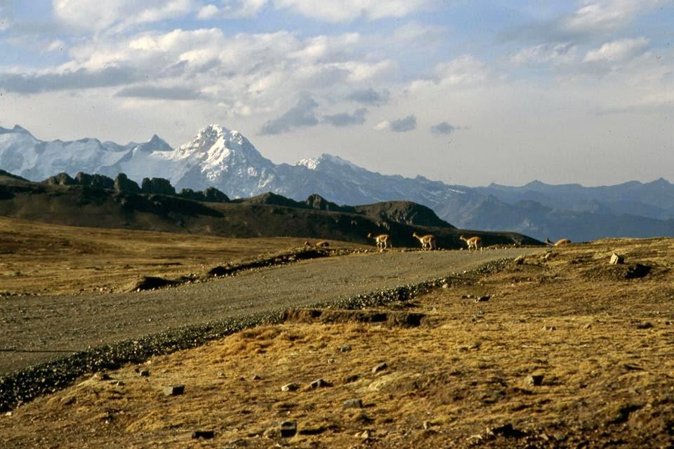 Deshielos en Bolivia