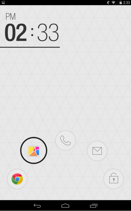Atom Locker - экран блокировки для Android