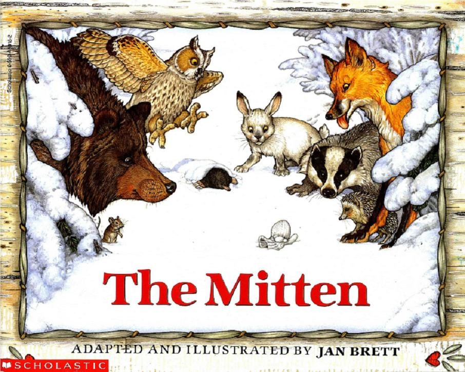 101 Picture Books: #4 - The Mitten by Jan Brett