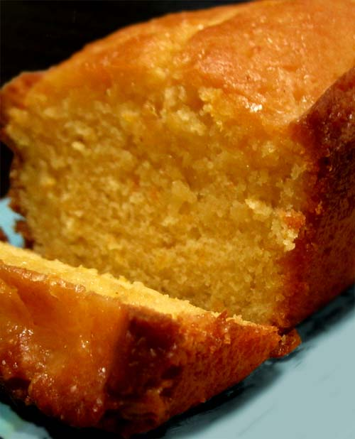 Glazed Orange Poundcake