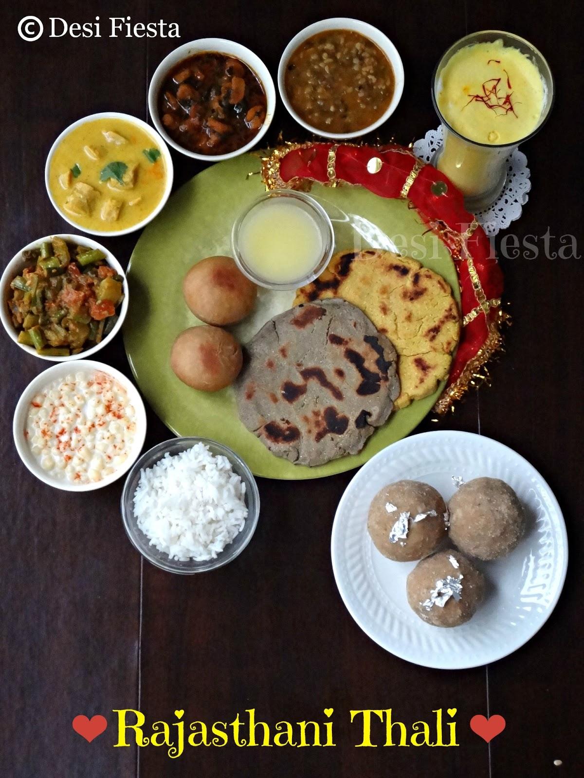 Rajasthani thali snc challange 10 desi fiesta rajasthani food forumfinder Choice Image