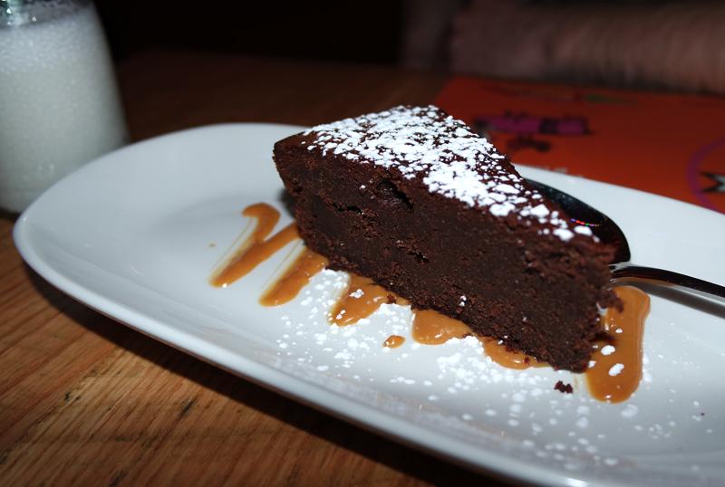 Cabana Manchester Chocolate Cake Dessert