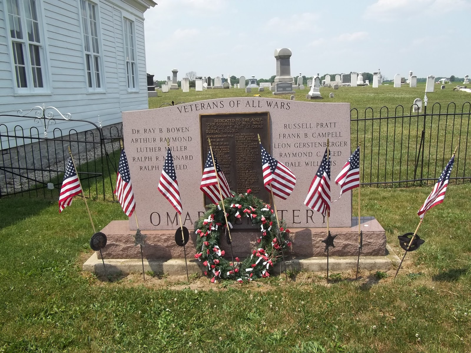 guest speaker will be marcus collins a vietnam veteran from norwalk who enlisted from monroeville a historic walking tour of the cemetery will be given by