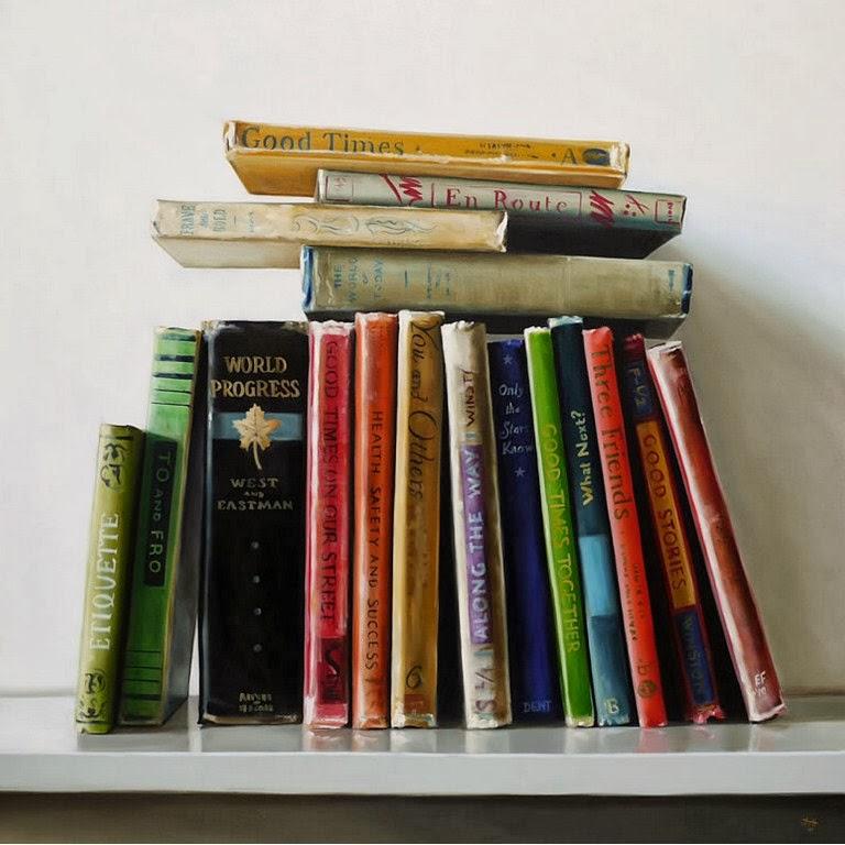 pinturas-hiperrealistas-de-libros