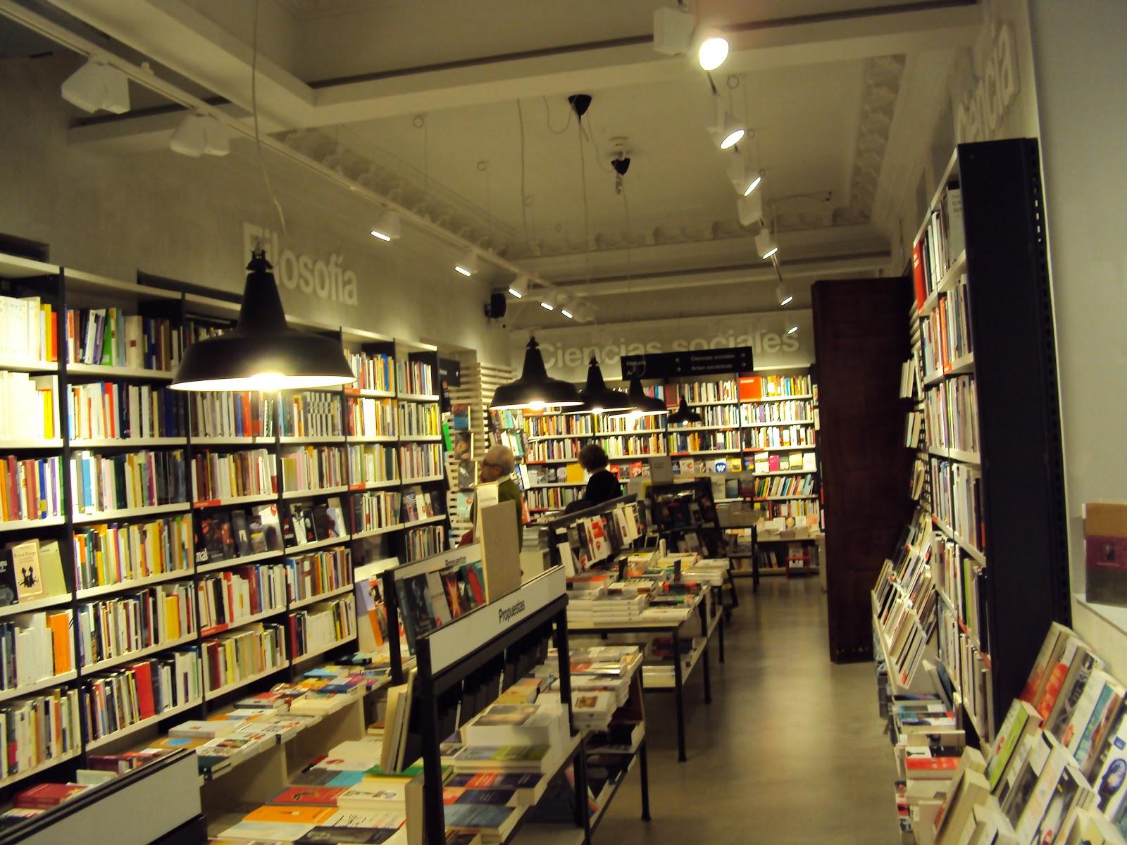 La librer a m s bonita de madrid - Libreria marcial pons barcelona ...