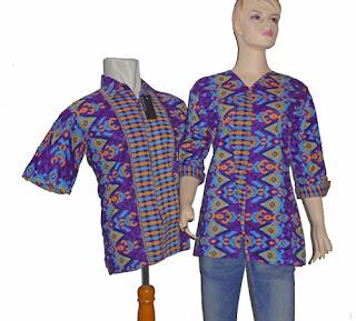 batik sarimbit blus