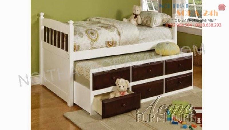 Giường tầng GT015