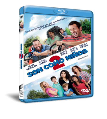 Son Como Niños 2(Grown Ups  2) [2013] BRRip 1080p Ingles – Latino 5.1