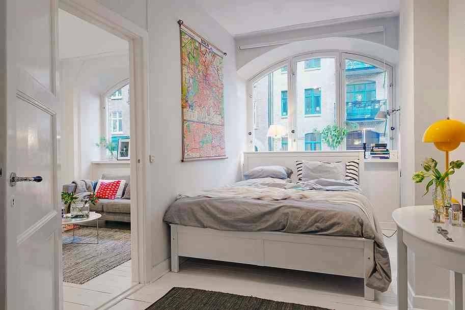 Camere Da Letto Matrimoniali Piccole : Idee fai da te per arredare piccole camere letto