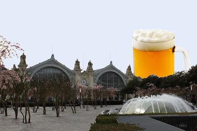 La tour Bière : projet de tour sur l'ilot Vinci par Jean Germain