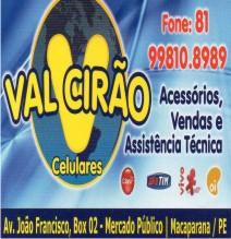 VAL CIRÃO CELULARES