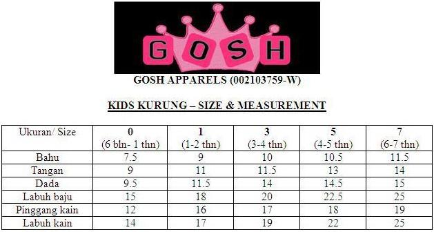 Baju Kurung Bayi dan Kanak-Kanak Raya 2013: Kurung Matching, Kurung ...