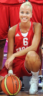 Antonija Misura Hot Croatian Basketball Player