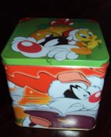 scatola latta battistero