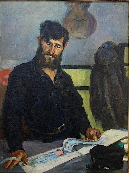 Šegalʹ Gregory Mijáilovich. Retrato del Conductor, 1934