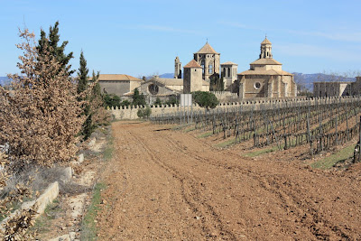 Overview of Poblet Monastery